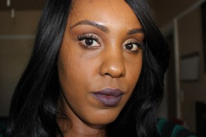 MAC Lipstick in Smoked Purple
